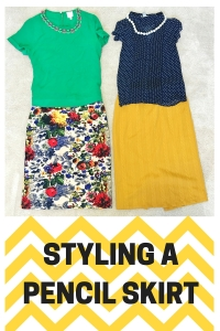 STITCH FIX TIPS: STYLING A PENCIL SKIRT